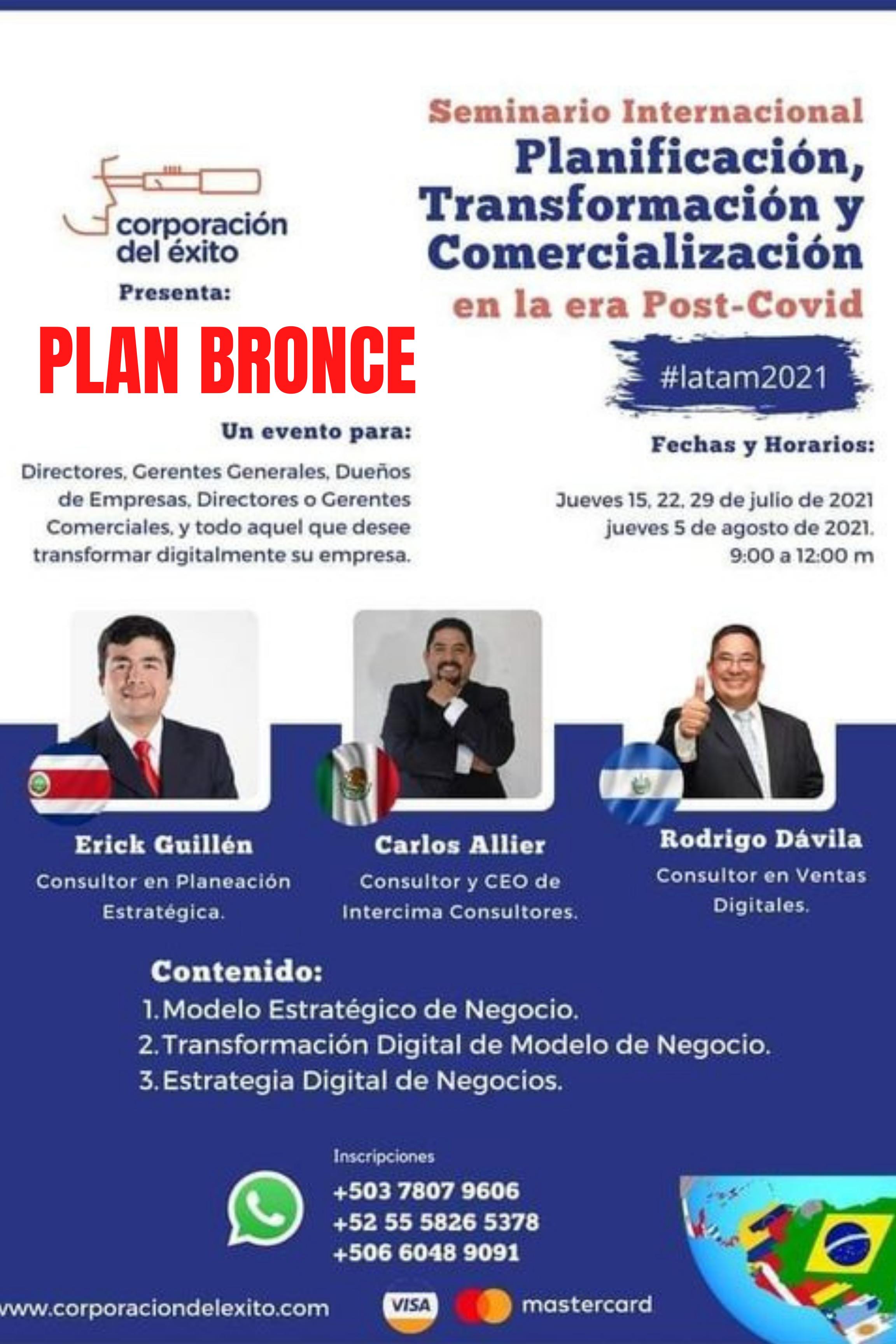 Planificación, Transformación y Comercialización (Plan Bronce)